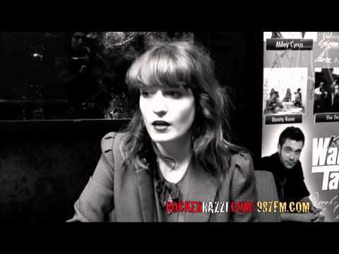 Florence and The Machine interview interviewed by Jared Sagal