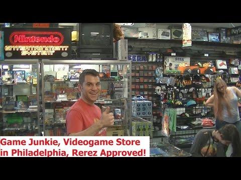 Classic Game Junkie (Philadelphia Game Store) Tour + Pickups - Adam Koralik
