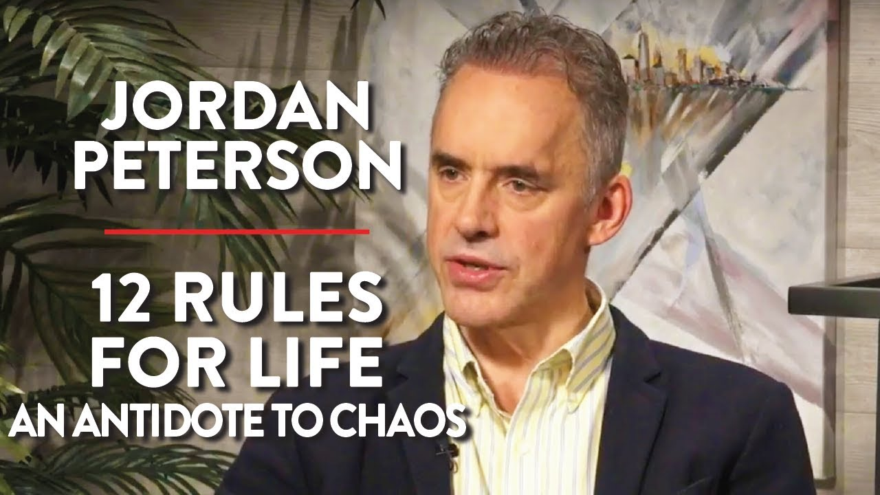 12 Rules for Life - An Antidote to Chaos & Live Q&A