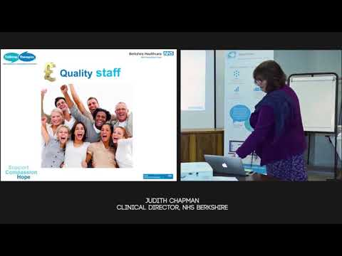 Quality in Healthcare Presentation - Judith Chapman, Clinical Director