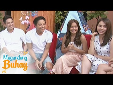Magandang Buhay: KathNiel together with their Growing Up barkada play a guessing game