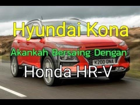 SUV Hyundai terbaru Hyundai Kona, siap bersaing dengan Honda HR V