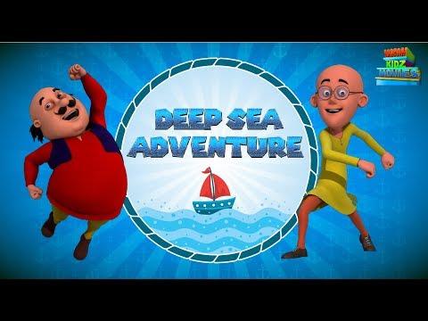 Motu Patlu | Deep Sea Adventure | Most Popular 3D Movies For Kids | WowKidz Movies thumbnail