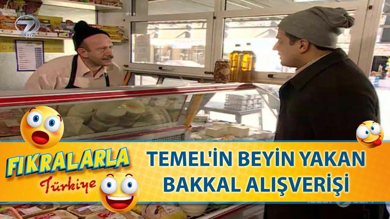 Temel'in Beyin Yakan Bakkal Alışverişi -Türk Fıkraları 65