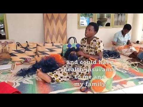 Rwanda banana fiber project