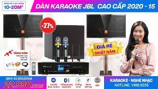 TOP 1 Dàn karaoke JBL Giảm Sốc Tết Dương: Dàn JBL cao cấp 2020-15 Hát karaoke, nghe nhạc tuyệt vời