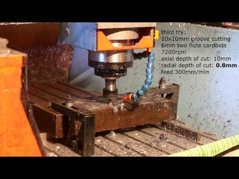 Cutting Steel with my DIY CNC router
