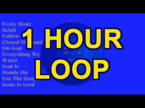 Kanye West - Follow God ( 1 Hour Loop )