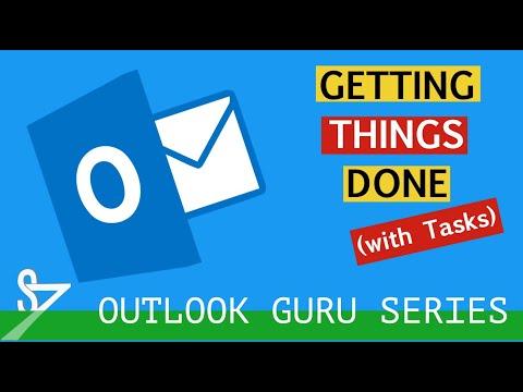 Outlook Time Management Tutorial Part 2 - Managing Tasks