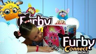 СУПЕР ФЕРБИ распаковываем ферби розовый SUPER FURBY pink Furby extract