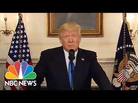 President Donald Trump Addresses Virginia Shooting (Full Statement) | NBC News