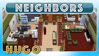 Sims Freeplay - Hugo's House (neighbor's Original House Design)
