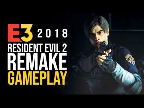 RESIDENT EVIL 2 Remake - El GAMEPLAY más TERRORÍFICO
