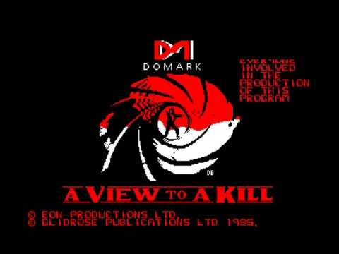 [AMSTRAD CPC] James Bond 007 : A View To A Kill - Review & Longplay (Part 1 of 4)