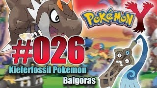 Let's Play Pokemon Y- Nr.26 - Kieferfossil Pokemon Balgoras - [Deutsch] [HD]