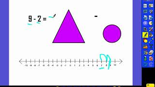 1.OA.6 Subtracting on a Number Line - Unit 2 Day 3