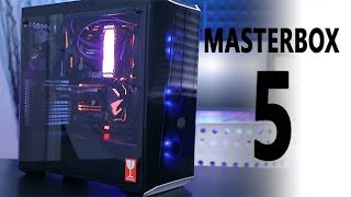 cooler Master Masterbox Lite 5 RGB Review