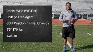 Daniel Wise College Free Agent (WR - Return Specialist)