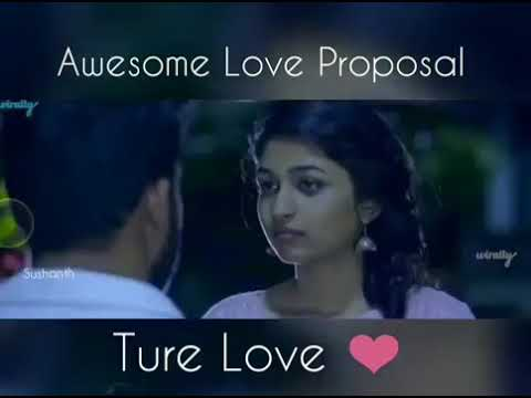 Telugu 😍Best❤LOve Proposal...