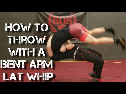 How to Throw in Greco-Roman Wrestling - Lat Whip - Wrestling Technique