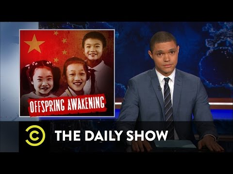 Thumbnail: China Ditches Its One-Child Policy: The Daily Show