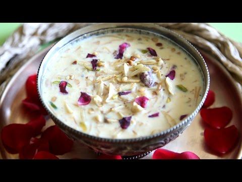 Sheer Khurma Recipe | Eid Special Recipe | Divine Taste With Anushruti