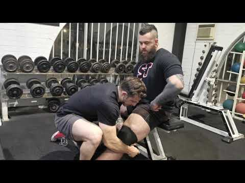 The 1000LB WRAP how to wrap your knees