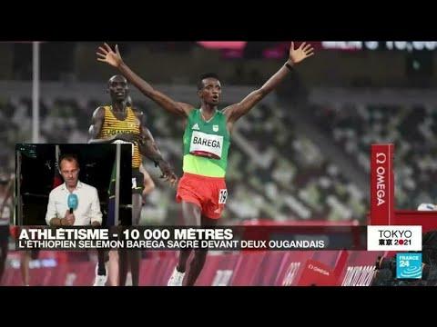 Download Tokyo 2021 : L'Ethiopien Selemon Barega champion olympique du 10 000m • FRANCE 24