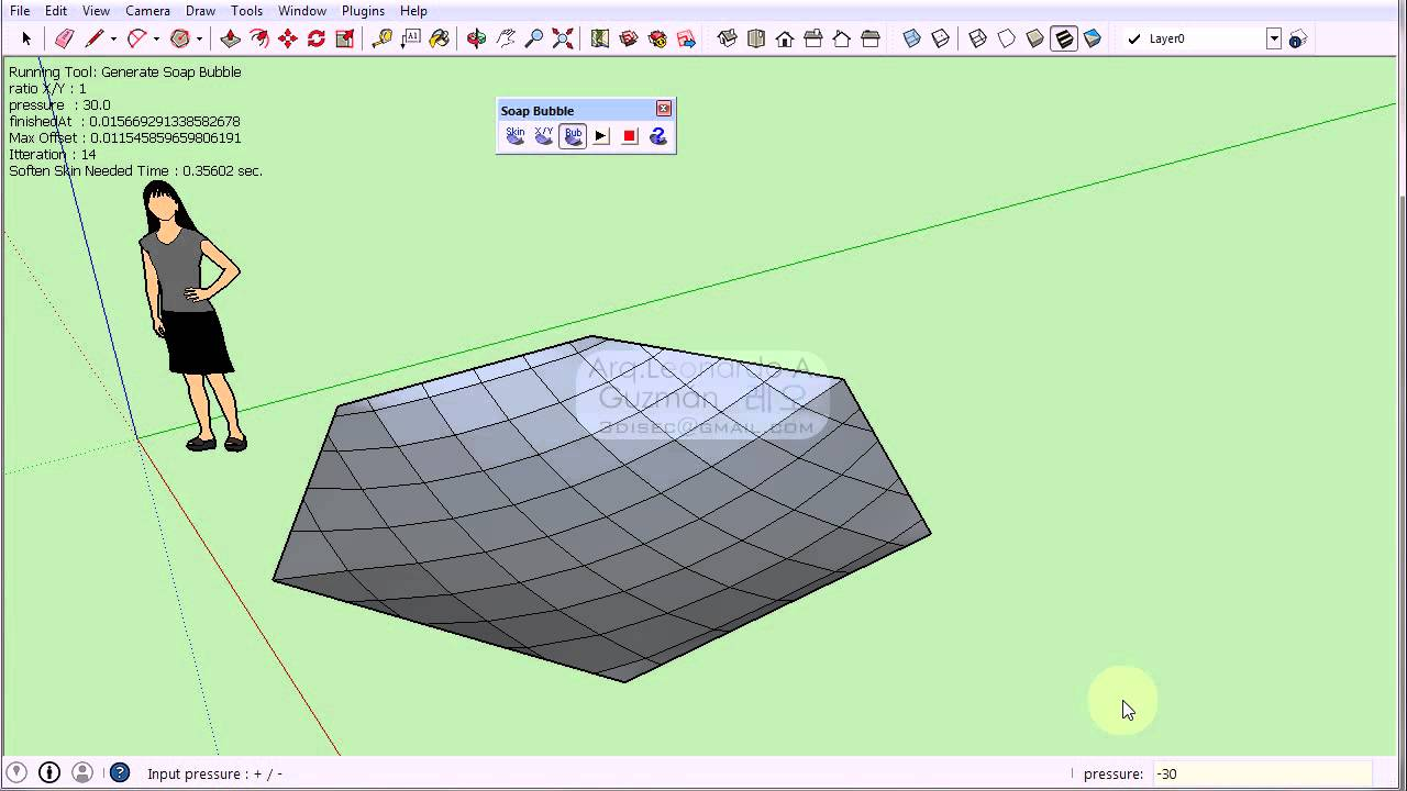 Sketchup 09 plugins, soap skin & bubble youtube.