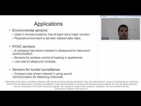 InterDigital Innovation Challenge Video Chat - Ultrasonic Wireless Sensors (With Captions)