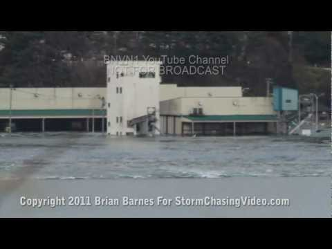 Otsuchi Japan Tsunami 2011 news footage