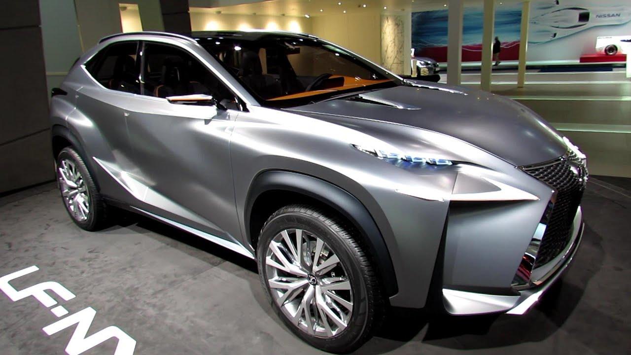 2015 Lexus LF-NX Concept - Exterior Walkaround - 2013 Frankfurt ...