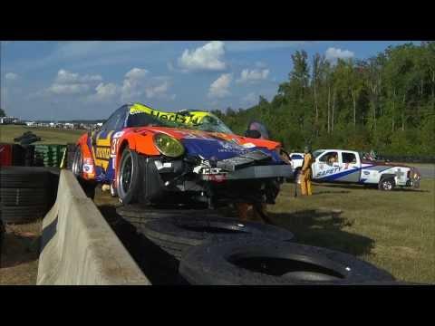 ALMS incidente tra le Porsche dei Team Paul Miller Racing e NGT Momo