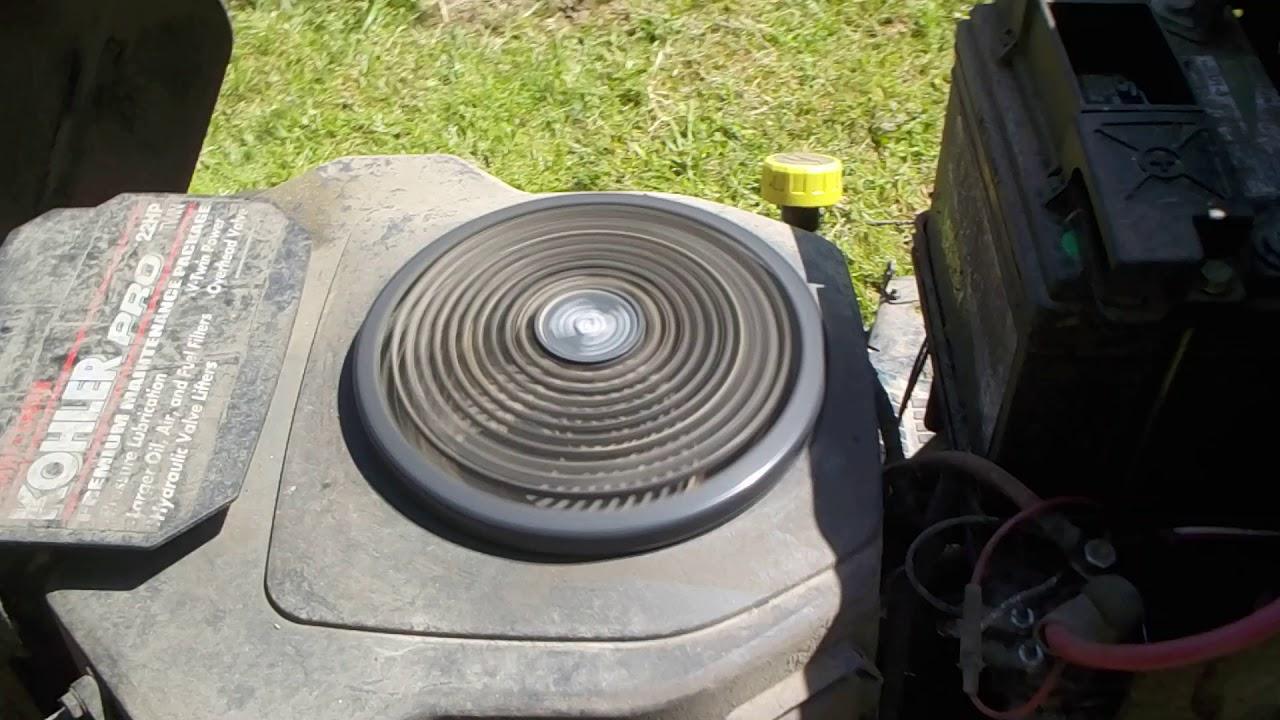 Kohler Engine Problem