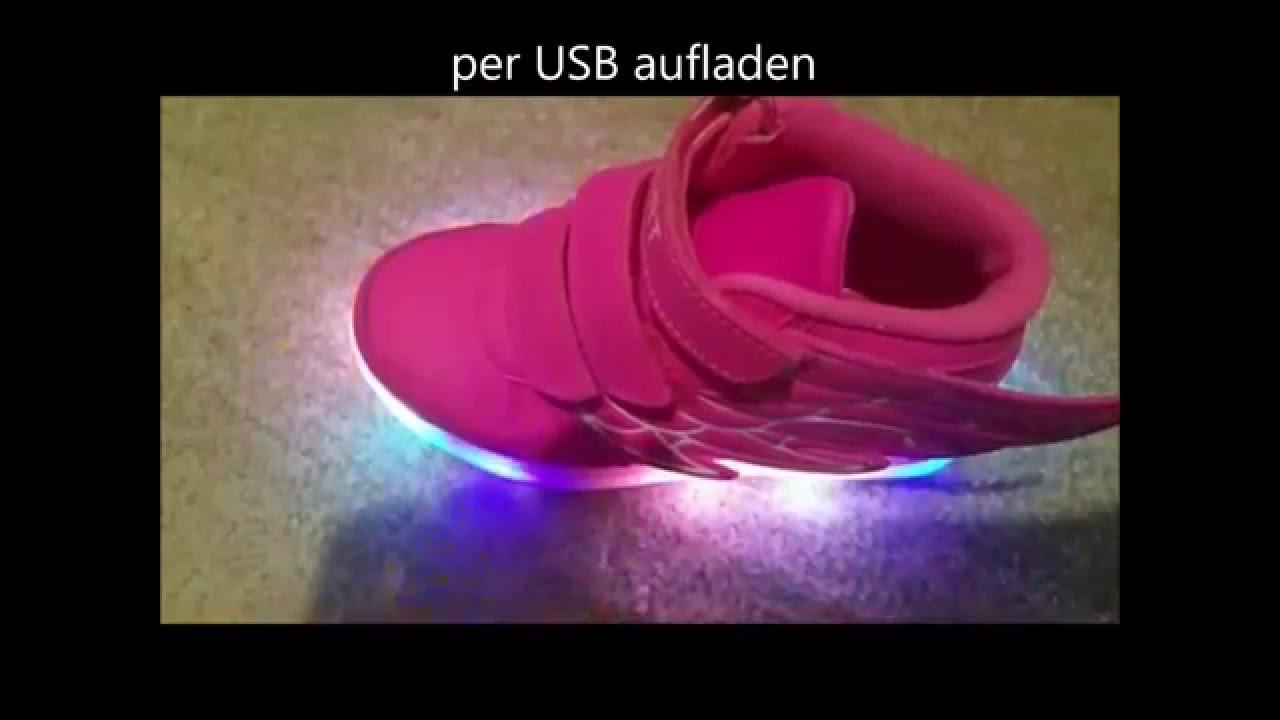 watch e1bb1 0412b www MiMaMode de LED Schuhe für Kinder und Erwachsene