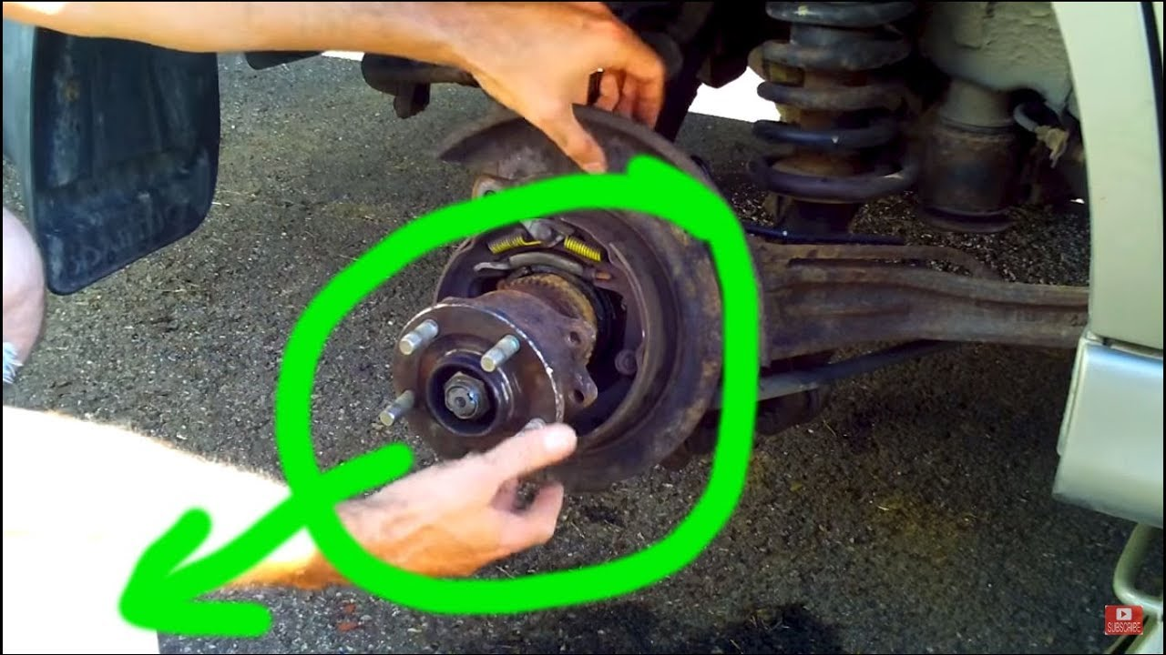 Rusted Subaru Rear Axle/Hub Removal - YouTube
