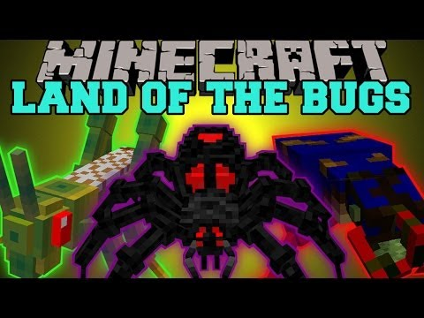 Thumbnail: Minecraft: LAND OF THE BUGS (EVIL BUG DIMENSION!) Erebus Mod Showcase