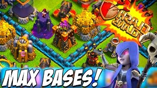 CLASH OF CLANS | High Level (Champion 1) Tips on SEARCHING and ATTACKING with 5 Golems!