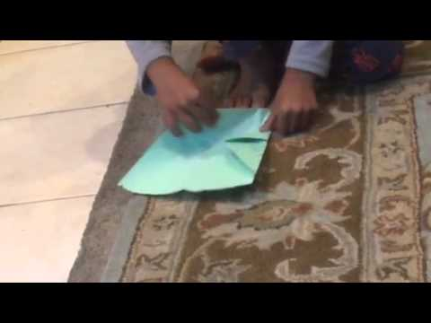 How to make two pocket paper airplane