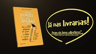 capa de Na Ponta da Língua de Sérgio Luís de Carvalho