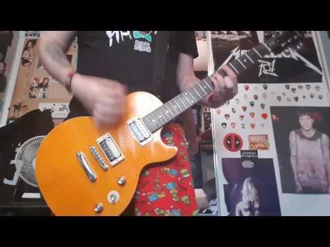 New Found Glory - Blitzkrieg Bop guitar cover