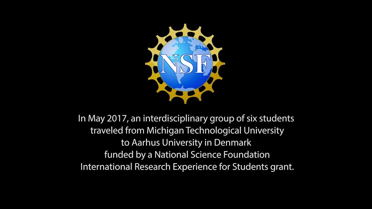Preview image for Michigan Tech-Aarhus NSF international research video