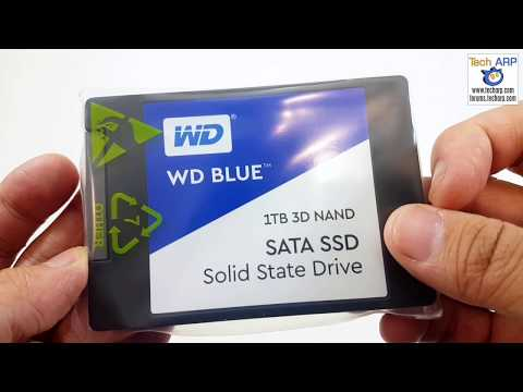 The 1TB WD Blue 3D SSD Up Close!
