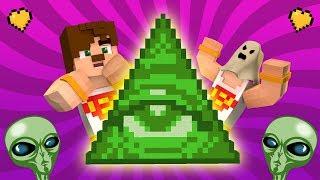 UZAYLILAR - İLLUMİNATİ ŞANS BLOKLARI (Minecraft)