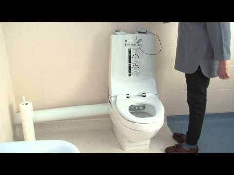 The OpeMed Wash Dry Assisted Toilet