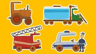 Download Машинки 🚗🚒 МЕГАСБОРНИК 🚜🚚 Все серии подряд - Мультики для мальчиков | Летающие звери Mp3 and Videos