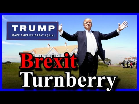 Donald Trump Turnberry Scotland Brexit Press Conference FULL SPEECH
