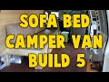Astro Camper Van Build 5 - Sofa Bed Build