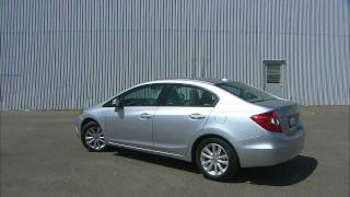 2012 Honda Civic EX Sedan With Navigation Video Review