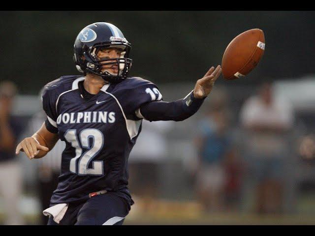 Former Troy QB Brandon Silvers in high school